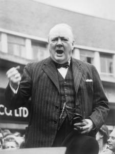 Il premier britannico Winston Churchill (Wikimedia Commons)
