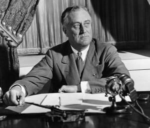 Il presidente americano Franklin Delano Roosevelt (Wikimedia)