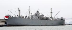 Una Liberty Ship, la classe di mercantili cui apparteneva la Charles Henderson (Wikimedia)