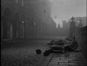 Fotogramma del film 'La lunga notte del '43' di Florestano Vancini (1960). NO CREDIT