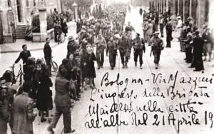 La Brigata Maiella a Bologna