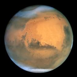 La foto di Marte dal telescopio Hubble