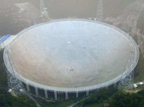 Il telescopio cinese Fast