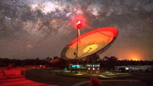 radiotelescopio-Parkes-in-Australia