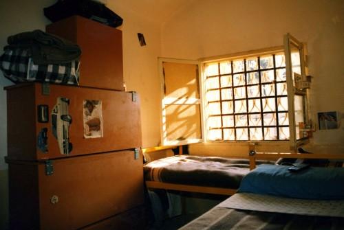 Una cella del carcere di Canton Mombello