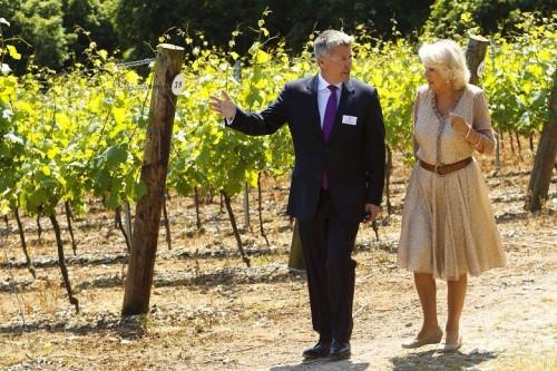 Ian Kellet e Camilla, duchessa di Cornovaglia