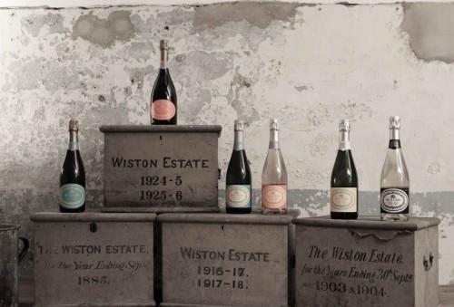 Gli spumanti di Wiston Estate