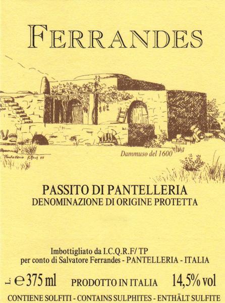 Il Passito di Ferrandes