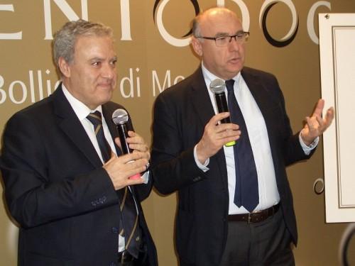 Enrico Zanoni con Antonello Maietta (Ais)