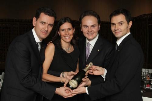 I cugini Lunelli: Marcello, Camilla, Matteo e Alessandro