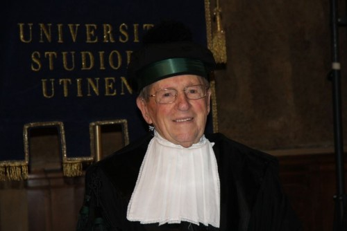 Livio Felluga, laureato honoris causa
