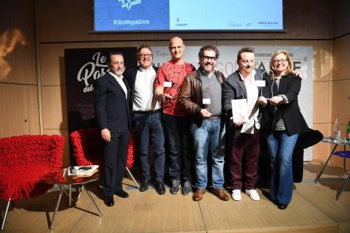 Da sinistra: Antonio Polito, Luciano Ferraro, Giorgio Mercandelli, Emanuele Rabotti, Luca Gardini, Elda Felluga