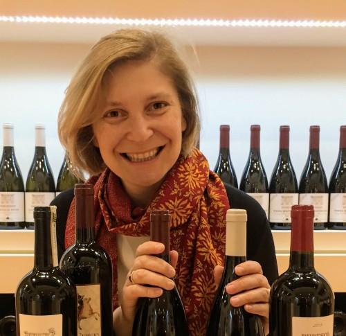 Chiara Lungarotti al Vinitaly 2017