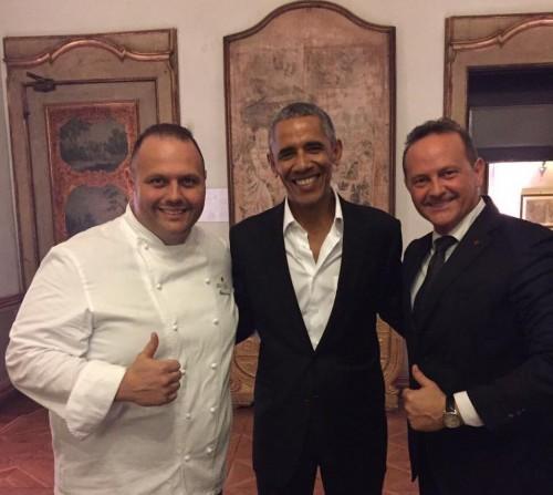 I fratelli Cerea con Obama