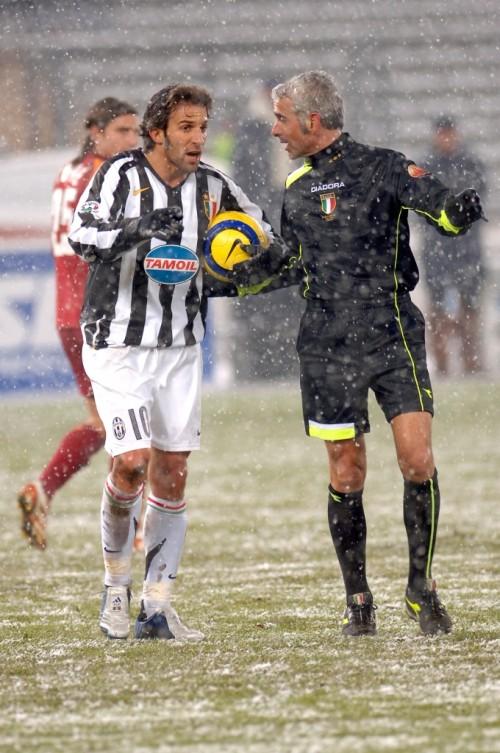 Tombolini con Del Piero