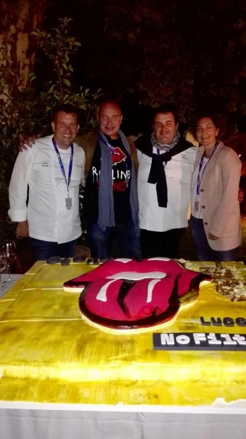 Luca D'Attoma, Elisa Celi e Gennaro Esposito
