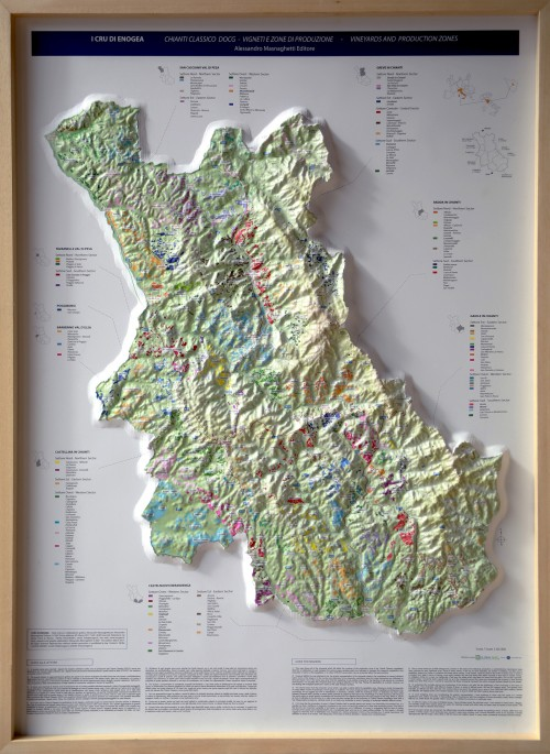 La mappa del Chianti Classico