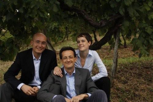 Paolo Bisol con i figli, Cantina Ruggeri
