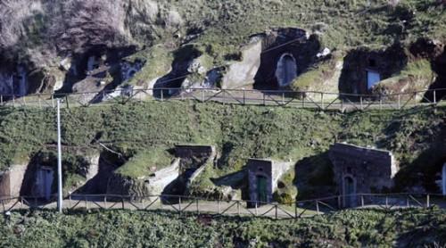 Il Parco Urbano delle Cantine a Barile