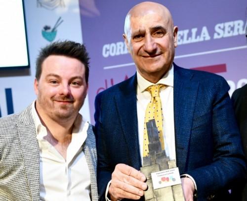 Federico Carletti con Luca Gardini