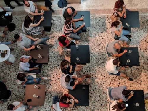 La degustazione dei Prosecco a Cibo a Regola d'arte Treviso, il 3 giugno scorso