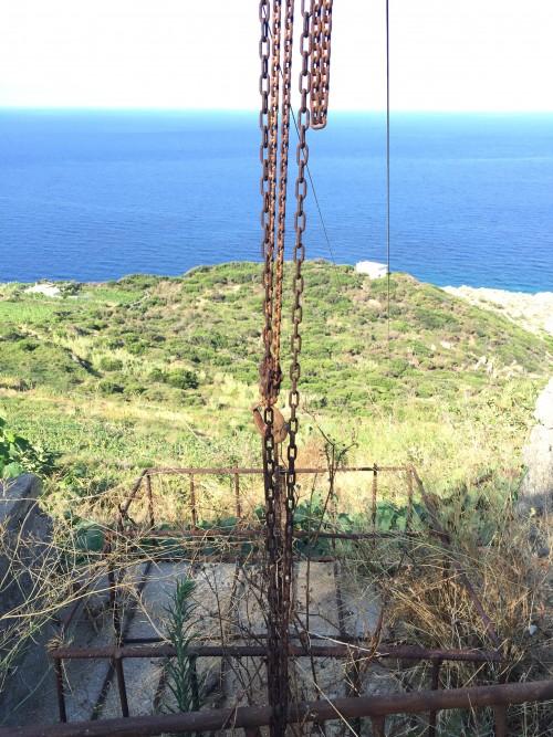 La teleferica dallla cantina al mare