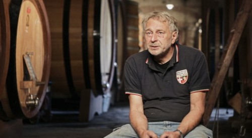Beppe Rinaldi in cantina