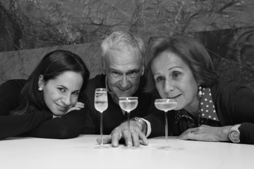 Silvia, Primo e Annalisa Franco