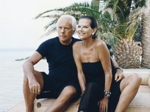 Con Claudia Cardinale a Pantelleria