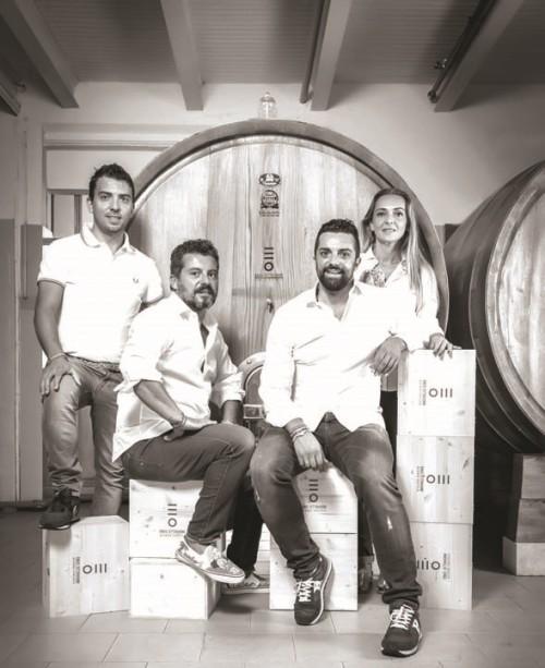 Davide e Massimo Lorenzi con Marco e Milena Tonelli