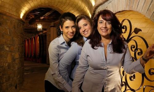 Gigliola con le sue Potazzine, Sofia e Viola