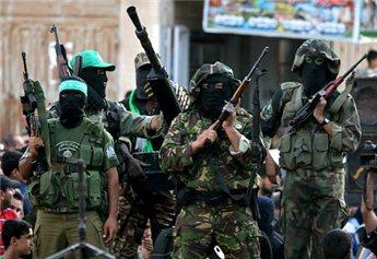 Miliziani delle Brigate Ezzedin Al Qassam