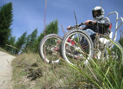 Salti in buggy bike