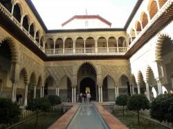Le stanze più intime di un Alcazar sivigliano molto accessibile