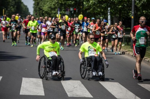 Haki Doku durante la scorsa edizione della Wings For Life World Run 2016