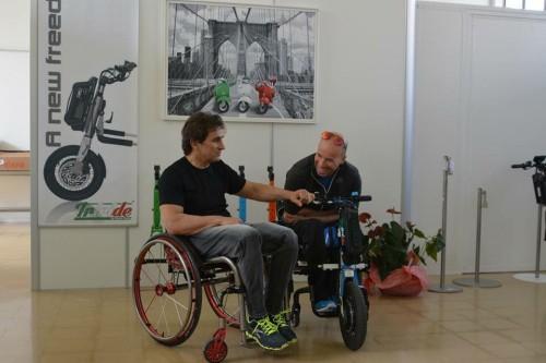 Alex Zanardi e Alessandro Podestà due dei testimonial del team Triride