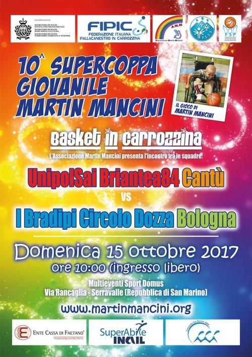 Supercoppa Martin Mancini 2017
