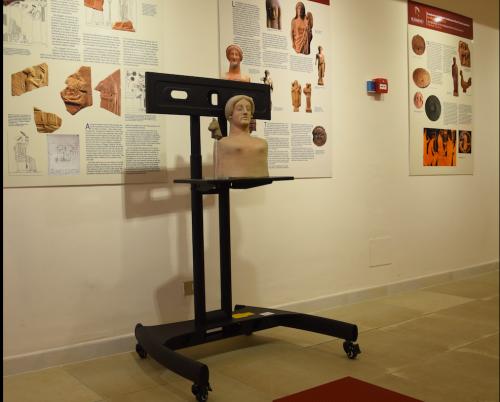 La riproduzione dei reperti - Museo Medma, Rosarno
