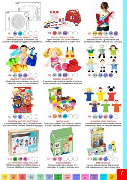Una pagina dal catalogo Play Together Special Children