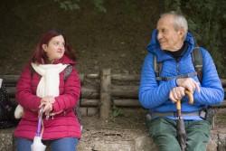 """Carolina Raspanti e Antonio Piovanelli in una scena di """"Dafne"""""""