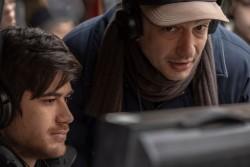 L'autore G.Mazzariol e il regista S.Cipani (foto Livio Bordone)