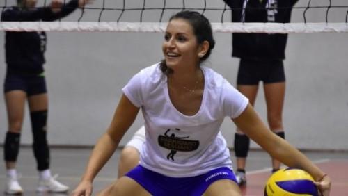 Ilaria Galbusera, capitana della Nazionale Volley Sorde