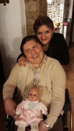 Maria Cidoni e sua figlia Barbara