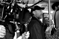 Vincent Cassell sul set del film (foto Carole Bethuel)