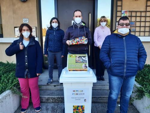 I ragazzi dell'associazione L'Iride di Selvazzano (Padova)