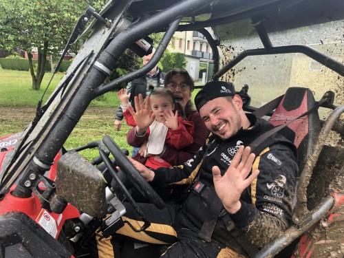 Mattia Cattapan sul buggy