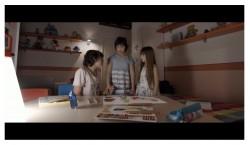 I tre fratelli Gioele, Martina e Benedetta
