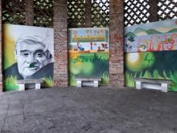 Murale danneggiato (ph. Silvia Calderone)