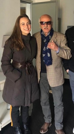 Emma Onesti e nonno Enzo