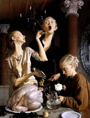 John Currin, Thanksgiving, 2003, Tate Gallery, London.jpg
